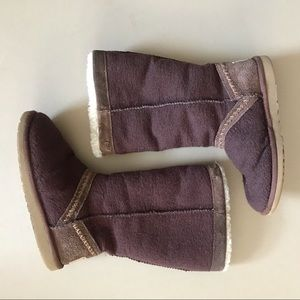 UGG Textile Suede Sheepskin Boots 6